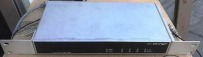 Fortinet FortiAnalyzer 100B - network monitoring device + Ac Adaptor Tax Invoice