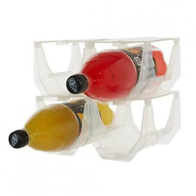 Set of 4 PortaStax Stackable Bottle Racks