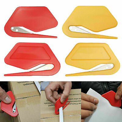 Safety Knives | Shrink Wrap Box Opener | Plastic Letter Cutter Knife Sharp Blade