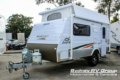 2011 Jayco Starcraft Outback White Pop Top