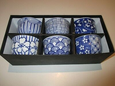Japanese Style 6 Piece Tea Cup Set Casa Uno