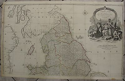 England & Wales 1794 Rocque/laurie & Whittle Large Antique Copper Engraved Map