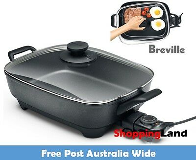 Electric Frypan Banquet Family Non-Stick Cooking Fry Pan Roast Sear Saute Cooker