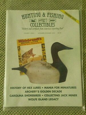 HUNTING & FISHING COLLECTIBLES MAGAZINE  2000-2010/Complete Set 10 yrs**MINT**