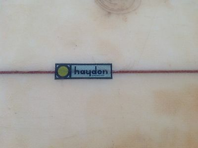 VINTAGE HAYDEN SINGLE FIN circa 1970 SURFBOARD