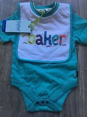 ted baker baby boy 3-6  Ted Baker  T Shirt And Bib