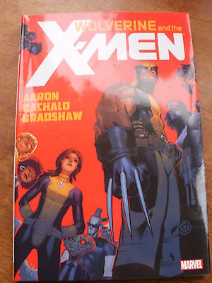 Graphic Novel Hardback Marvel Wolverine and the X-Men, MARVEL