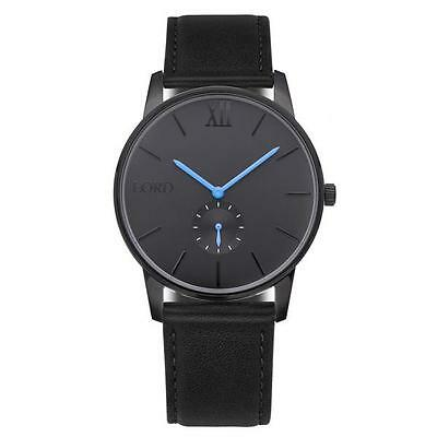 Lord Timepieces Solitude Black Blue