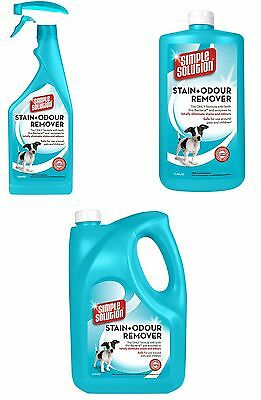 Simple Solution Stain and Odour Remover for Dogs 750 ml 1L 4L