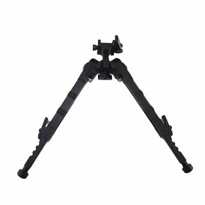"Aukmont 7.2-9"" Rifle Aluminum Bipod Adjustable Bolt Action w/ QD Picatinny Mount"
