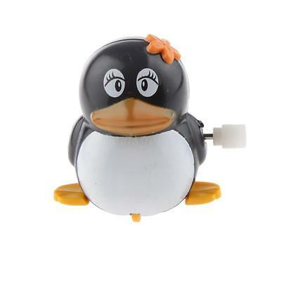Plastic Creative Wind Up Series Clockwork Penguin Walking Toy Child's Gift