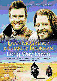Long Way Down The Complete Series 3-Disc Dvd Brand New & Factory Sealed