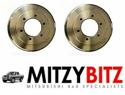 REAR BRAKE DRUMS  for MITSUBISHI L200 K7- SERIES 2.5 2.8 3.0 V6 1996-2007