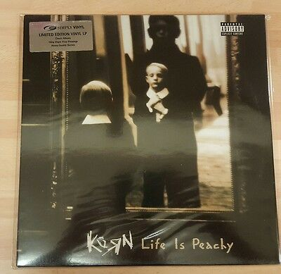 KORN 'LIFE IS PEACHY' NEW AND SEALED 180g DOUBLE VINYL LP