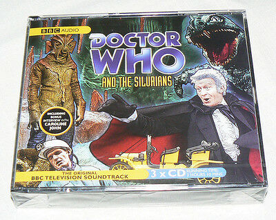 Doctor Who and the Silurians Audio Book 3 x CD New & Sealed