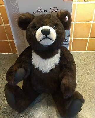 Steiff UK and Ireland Exclusive Limited Ed Moon Ted - 40cm/16in box/ear tag/cert