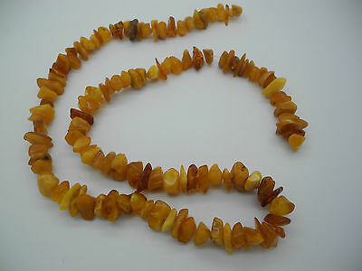 Natural Baltic antique amber necklace