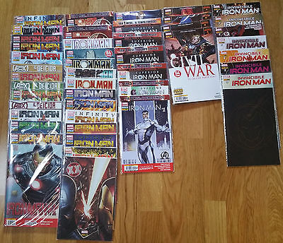 Fumetti Marvel Now Iron Man Superior Invincibile Civil War Completo 1-44
