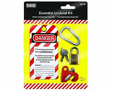 Kasp Essential Lockout Kit K81100 - for MCB Lockout