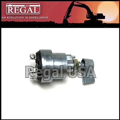 Disenparts 08063-02000 8S7713 8S-7713 Starter Ignition Switch with 3 Plug 7N4160 7N-4160 2S2342 2S-2342 For Komatsu Caterpillar CAT 8FT 10FT AP-800 AP-800B AP-1200
