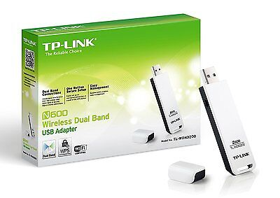 TP LINK TL-WDN3200 N600 Wireless Dual Band USB ADAPTER WiFi Dongle 5GHz 2.4GHz