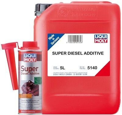 Liqui Moly Super Diesel Additive - Available in: 250ml 1806 & 5L 5140
