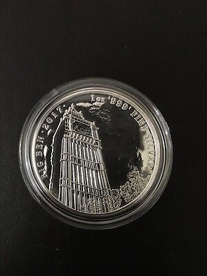 2017 1 oz Silver Landmarks of Britain BIG BEN