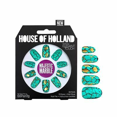 House Of Holland False Nails - Majestic Marble (24 Nails)