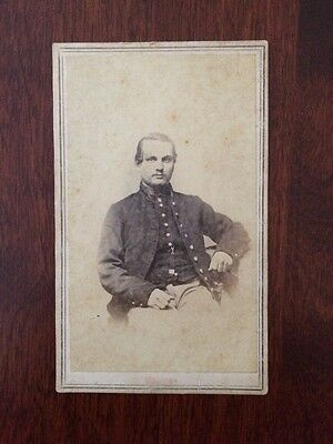 Civil War Soldier CDV