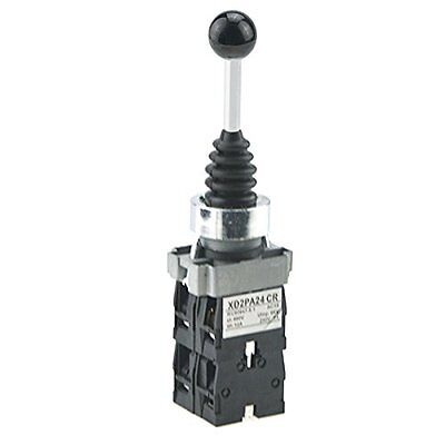 URBEST SPST 4 NO. 4 Position Momentary Type Monolever Joystick Switch for Air...
