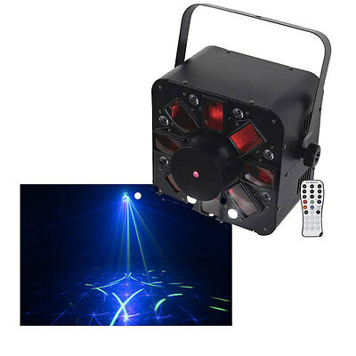 AFX COMBOLED-RB 3in1 Effect Light Laser Strobe RGBAW Disco DJ Lighting + Remote