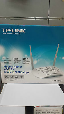 Modem Router Tp-Link Td-W8961N Adsl2+ Wifi Wireless 300Mbps