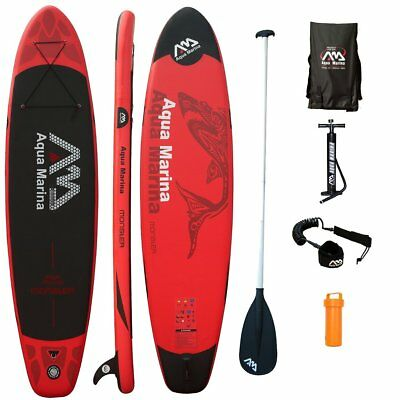 MONSTER mit ALU-Paddle, KOMPLETT-SETs, SUP Paddle-Board, Aqua Marina, 365x82x15