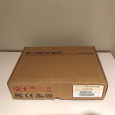 New Open Box - Fortinet Fortigate 30B Security Appliance Firewall - FWF-80CM