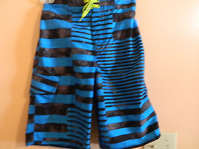 06a789b207 NWT Joe Boxer boys board shorts, blue and black, 100% polyester size 10