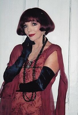 "JOAN COLLINS - Complete LOT Of SIX 12"" x 8"" Photographs 'OVER THE MOON'  F20-X"