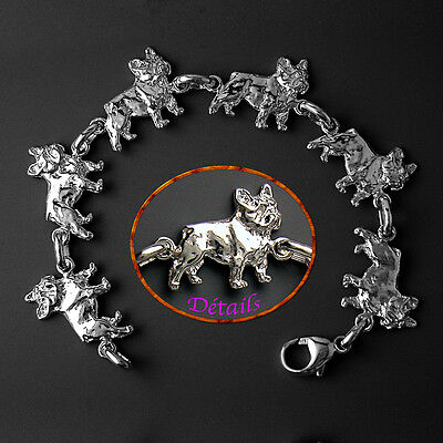 Bracelet Chien BOULEDOGUE FRANCAIS - Bracelet FRENCH BULLDOG