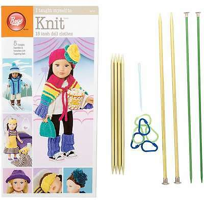 """I Taught Myself To Knit 18"""" Doll Clothes  070659919831"""