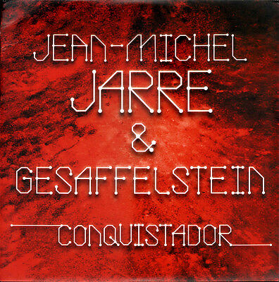Jean Michel Jarre & Gesaffelstein ‎– Conquistador RARE Limited too only 1000 NEW
