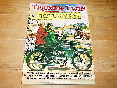 Triumph Twin Restoration - a Book by Roy Bacon