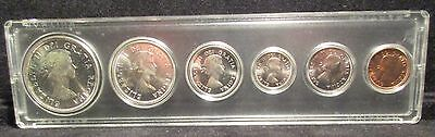 1964 Canadian Mint Set 1 Cent-1 Dollar W/ Free Shipping!