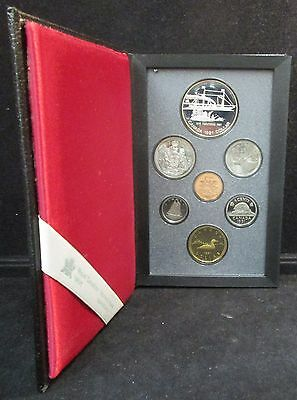 1991 Canadian Proof Set Inlc. Commemorative Aureate Dollar W/ Free Shipping!