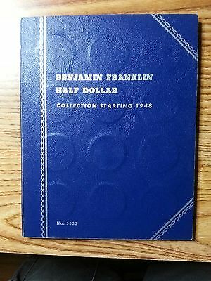 1948 - 1963 Complete Set Franklin Half Dollars - 35 Coins - Nice Set (e)