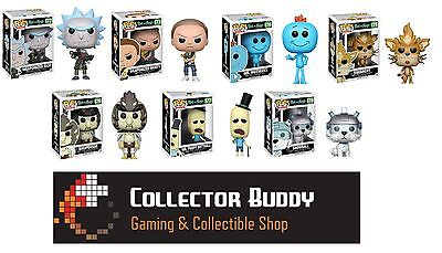Funko Pop! All Seven Animation 172-178 Rick and Morty Pop Complete Set Vinyl
