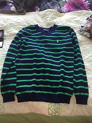 Polo Ralph Lauren Striped Jumper Age 10-12