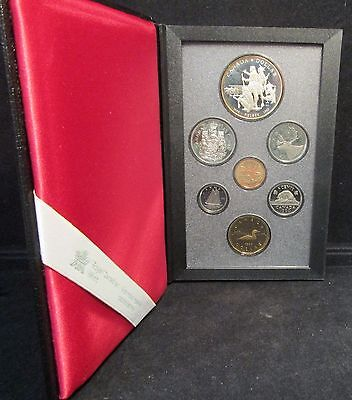1990 Canadian Proof Set Incl. Silver & Aureate Dollars W/ Free Shipping!