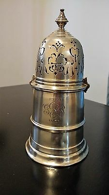 Vintage Sterling Silver Black Starr And Frost Sugar Shaker Castor