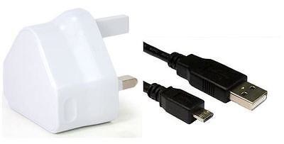 USB Charger Data Cable Cord Compatible with T-Mobile Trio AXS 4G Trio AXS 3G Tablet PC