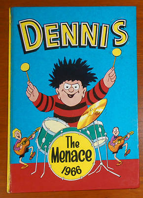 DENNIS THE MENACE Annual Book 1966 - Beano Comic
