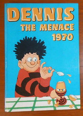 DENNIS THE MENACE Annual Book 1970 - Beano Comic